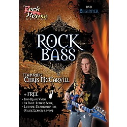 Rock House Learn Rock Bass Beginner DVD (14018765)