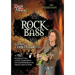 Rock House Learn Rock Bass Intermediate DVD (14018766)