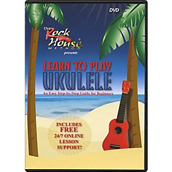 Rock House Learn to Play Ukulele, An Easy Step-by-Step Guide for Beginners (DVD) (14027249)
