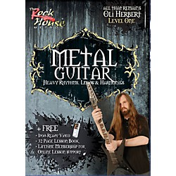 Rock House Metal Guitar- Heavy Rhythms, Leads & Harmonies Level 1 with Oli Herbert of All That Remains (DVD) (14021341)