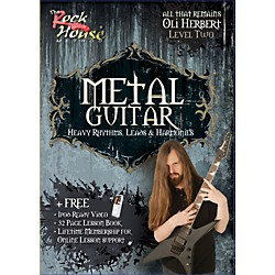 Rock House Metal Guitar- Heavy Rhythms, Leads & Harmonies Level 2 with Oli Herbert of All That Remains (DVD) (14021342)