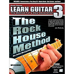 Rock House The Rock House Method - Learn Guitar Book 3 (Book/CD) (14041756)