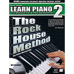 Rock House The Rock House Method - Learn Piano Book 2 (Book/CD) (109245)