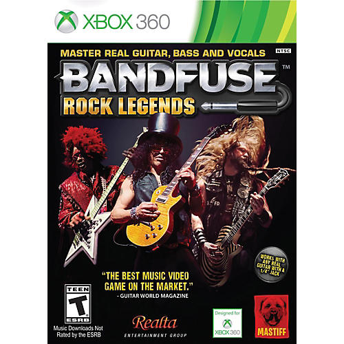 Nady Rock Legends Artist Pack for Xbox360