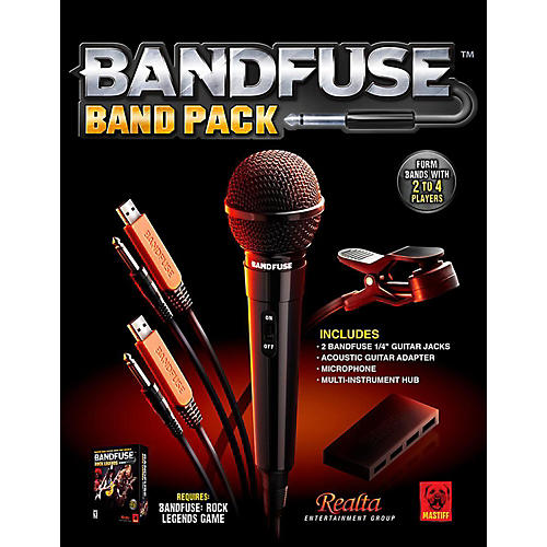 Nady Rock Legends Band Pack For Xbox360 and PS3-thumbnail