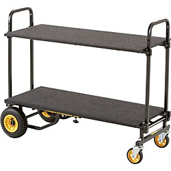 Rock N Roller R6RT 8-in-1 Mini Multi-Cart with Shelf and Desk (R6DECKSHELF)