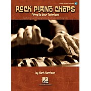 Hal Leonard Rock Piano Chops Firing Up Your Technique Book/CD
