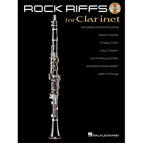 Hal Leonard Rock Riffs for Clarinet Book/CD-thumbnail
