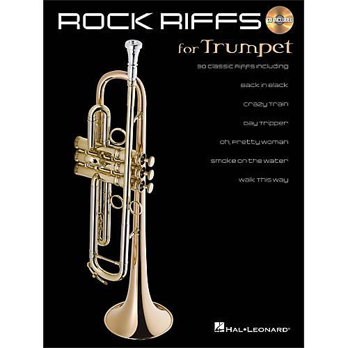 Hal Leonard Rock Riffs for Trumpet Book/CD