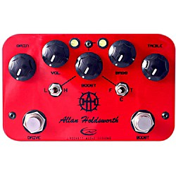 Rockett Pedals Allan Holdsworth Overdrive/Boost Guitar Effects Pedal (9530-009)
