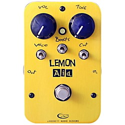 Rockett Pedals Lemon Aid Multi Boost Guitar Effects Pedal (9530-004)