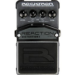Rocktron Reaction Distortion I Guitar Effects Pedal (001-1620)