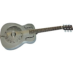 Rogue Classic Brass Body Resonator Guitar (USED004000 SO-069-CB60)