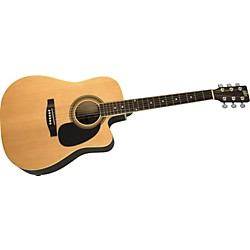 Rogue Dreadnought Cutaway Acoustic-Electric Guitar (SO-069-RADEQ-C)