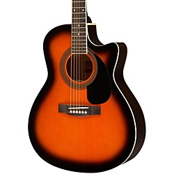 Rogue Grand Concert Cutaway Acoustic-Electric Guitar (SO-069-RAGCEQ-SN)