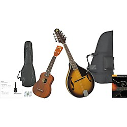 Rogue Mandolin And Ukulele Travel Pack (KIT873562)