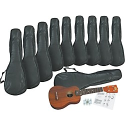 Rogue Ukulele Starter Pack - 10 Pack (SO-069-RU12-KIT - 10 Pack)
