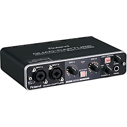 Roland Quad Capture USB 2.0 Audio Interface (UA-55)