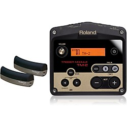 Roland TM-2 Drum Trigger with 2 BT-1 Bar Trigger pads (TM2-BT1-2)