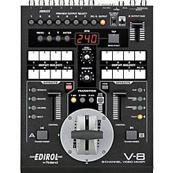 Roland V-8 8-Channel Video Mixer with Effects (V-8)