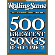 Alfred Rolling Stone Sheet Music Classics Volume 2: 1970s-1990s Piano, Vocal of Guitar Book