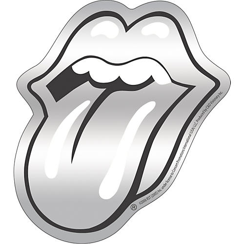 C&D Visionary Rolling Stones Sticker Chrome