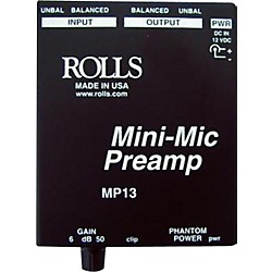 Rolls MP13 Mini-Mic Preamp (MP13)