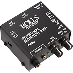 Rolls PM50S Personal Monitor Amp (PM50S)