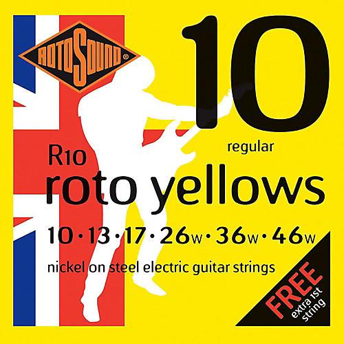 Rotosound Roto Yellows Electric Guitar Strings