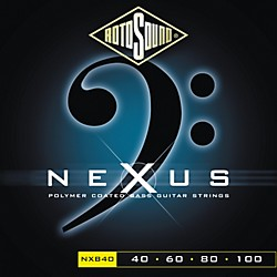 Rotosound Nexus Polymer Extra Light Coated Bass Strings (NXB40-581802)