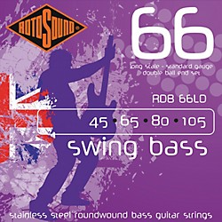 Rotosound RDB66LD Double Ball End Bass Strings (RDB66LD)