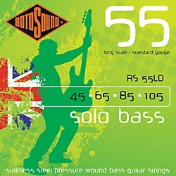 Rotosound RS55LD Solo Bass Stainless Steel Strings (RS55LD)