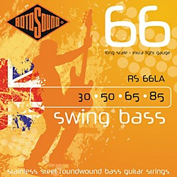 Rotosound RS66LA Extra Light Long Scale Bass Strings (RS66LA)