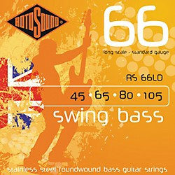 Rotosound RS66LD Long Scale Swing 66 Bass Strings (RS66LD)