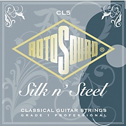 Rotosound Silk 'n Steel Classical Guitar Strings (CL 5)