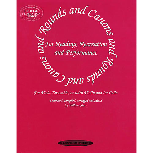 Alfred Rounds and Canons for Viola Ensemble (Book)
