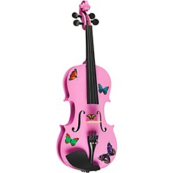 Rozanna's Violins Butterfly Dream Lavender Series Violin Outfit (BSL5018)