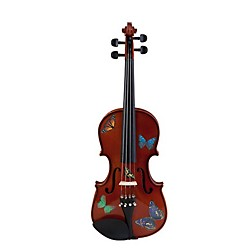 Rozanna's Violins Butterfly Dream Series Violin Outfit (BSN5024)