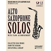 Hal Leonard Rubank Book of Alto Sax Solos - Intermediate Level Book/Audio Online