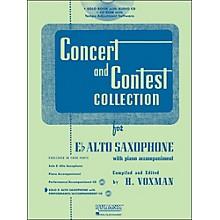Hal Leonard Rubank Concert And Contest Collection Alto Sax Book/CD