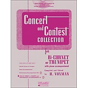 Hal Leonard Rubank Concert And Contest Collection Trumpet/Cornet Book/CD
