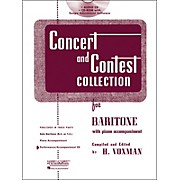 Hal Leonard Rubank Concert And Contest For Baritone - Accompaniment CD