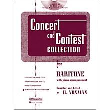 Hal Leonard Rubank Concert And Contest For Baritone - Accompaniment CD