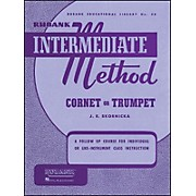 Hal Leonard Rubank Intermediate Method Cornet Or Trumpet