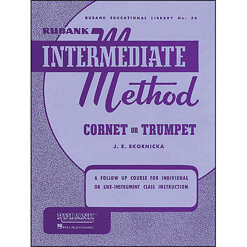 Hal Leonard Rubank Intermediate Method Cornet Or Trumpet