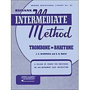 Hal Leonard Rubank Intermediate Method Trombone Baritone