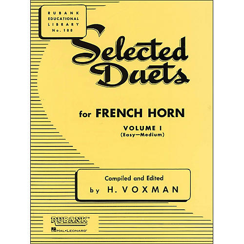 Hal Leonard Rubank Selected Duets French Horn Vol 1 Easy/Medium-thumbnail
