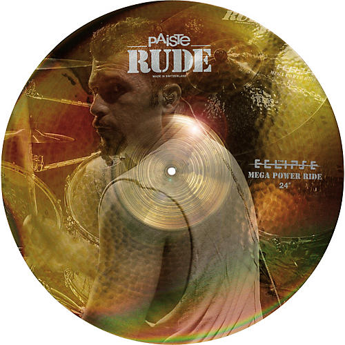 Paiste Rude Mega Power Ride Cymbal 24 in.