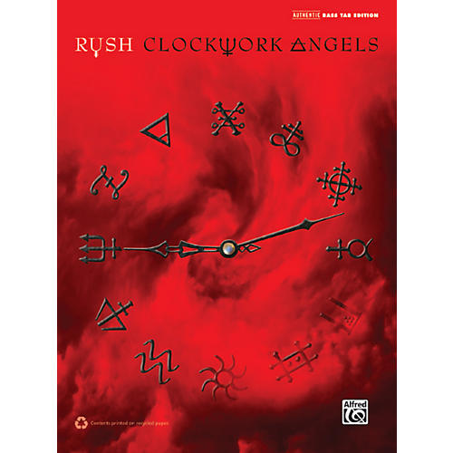 Alfred Rush Clockwork Angels Bass TAB Book-thumbnail