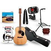 Jasmine S-35 Dreadnought Acoustic Guitar Deluxe Bundle